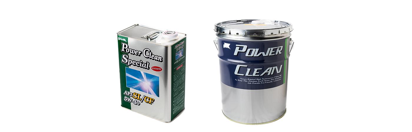 シグマ パワークリーン スペシャル(Power Clean Special) 5W40 SL/CF